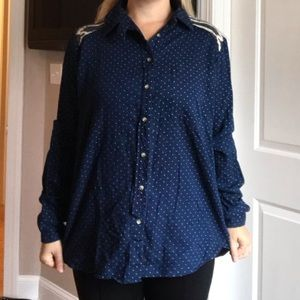 Free People Button-Down